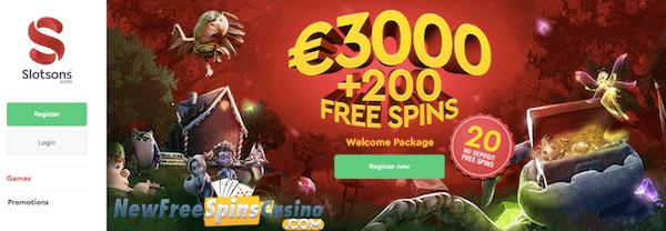 slotsons casino no deposit bonus
