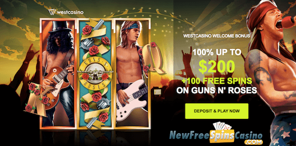 west casino no deposit bonus