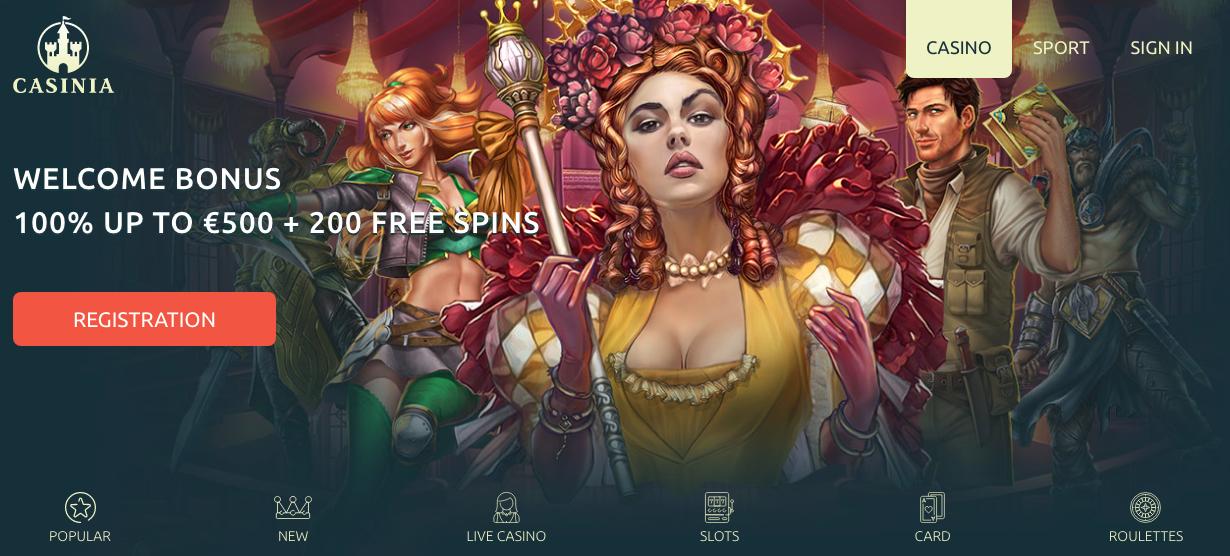 фото Официальный сайт казино казиния