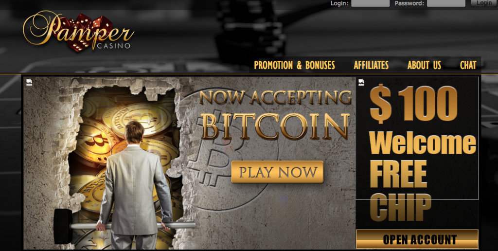 Pamper Casino Bitcoin