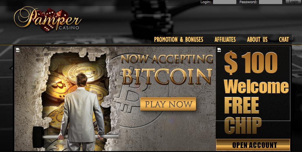 Pamper Casino Bitcoin