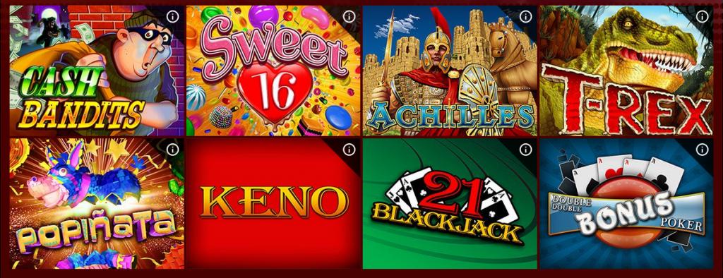 Planet 7 Casino Games
