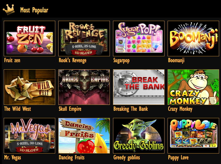 Pamper Casino Slot Machines