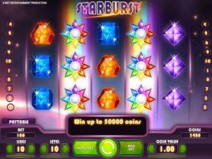 starburst slots gameplay
