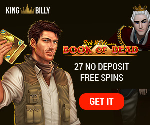 King Billy Casino 27 free spins no deposit