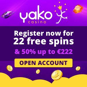 YakoCasino Welcome Bonus