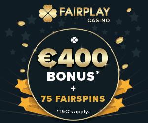 FairPlay Casino Welcome Deposit Bonus
