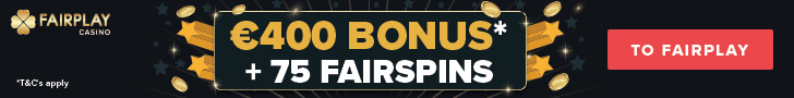FairPlay Casino Welcome Deposit Bonus