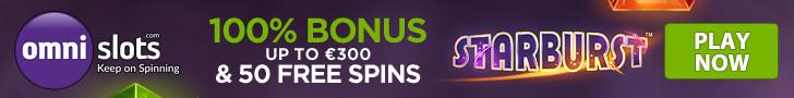 OmniSlots Casino Welcome Deposit Bonus