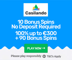 Casilando Casino Welcome Bonus