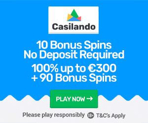 Casilando Casino Welcome Bonus