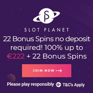 Slot Planet Casino Welcome Offer
