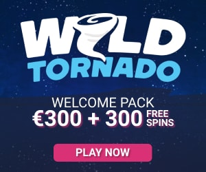 Wil Tornado Casino Welcome Bonus