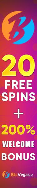 BTC Vegas Casino 20 Free Spins No Deposit