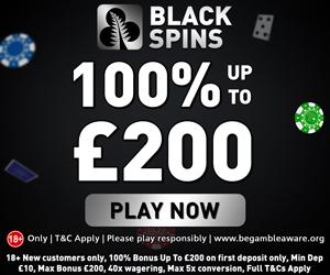 Black Spins Casino Welcome Bonus
