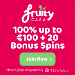 Fruity Casa Casino Welcome Offer