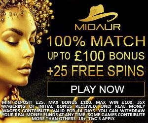 Midaur Casino Free Spins Deposit