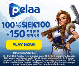 Pelaa Casino Welcome Bonus