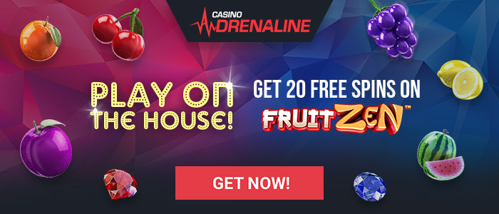 Casino Adrenaline Free Spins No Deposit
