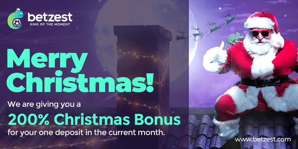 Betzest Casino Christmas Bonus