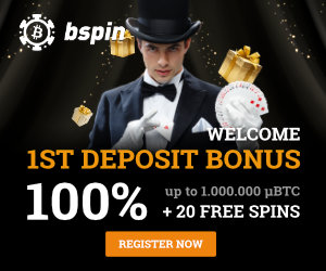 Bspin.io Casino Welcome Bonus