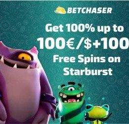 BetChaser Casino Welcome Bonus