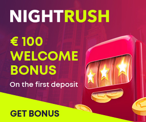 NightRush Casino Welcome Bonus