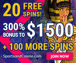 SportsandCasino No Deposit Bonus