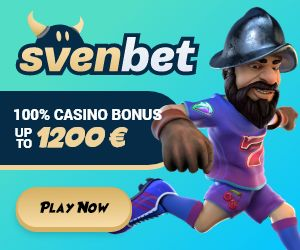 Svenbet Casino Welcome Bonus