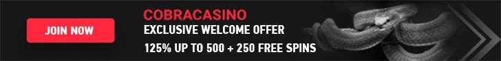 Cobra Casino Welcome Bonus